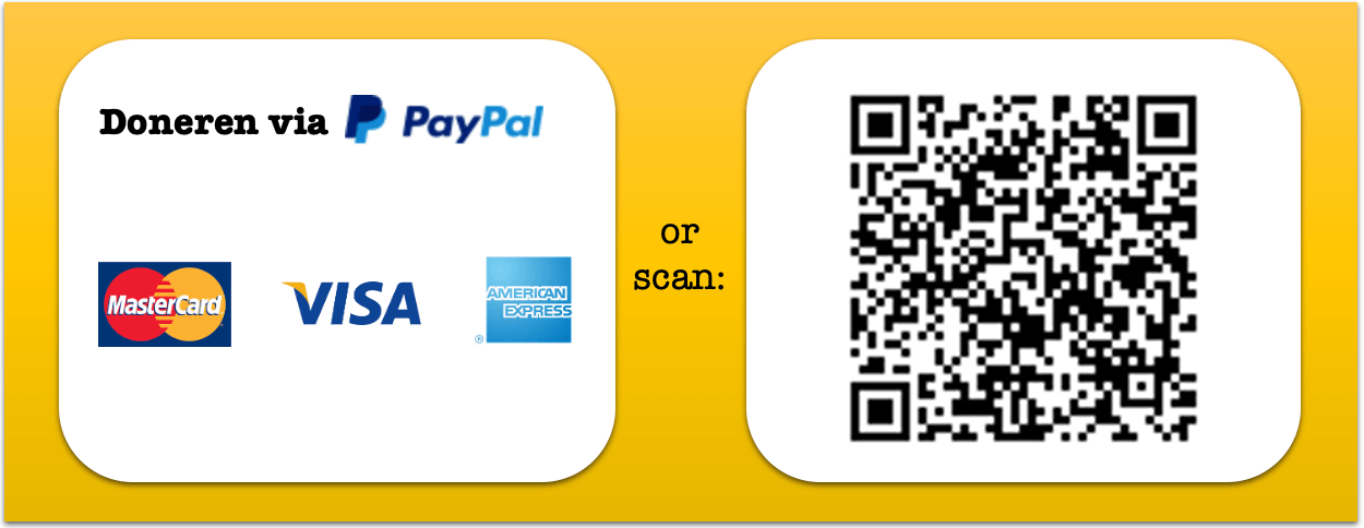 QR and link PayPal Concertgemaal